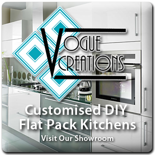 customised diy flat pack kitches